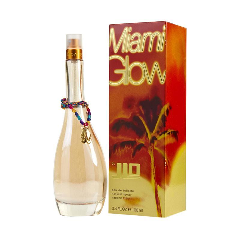 Jennifer Lopez Miami Glow Eau de Toilette Parfum Wanita [100 mL]
