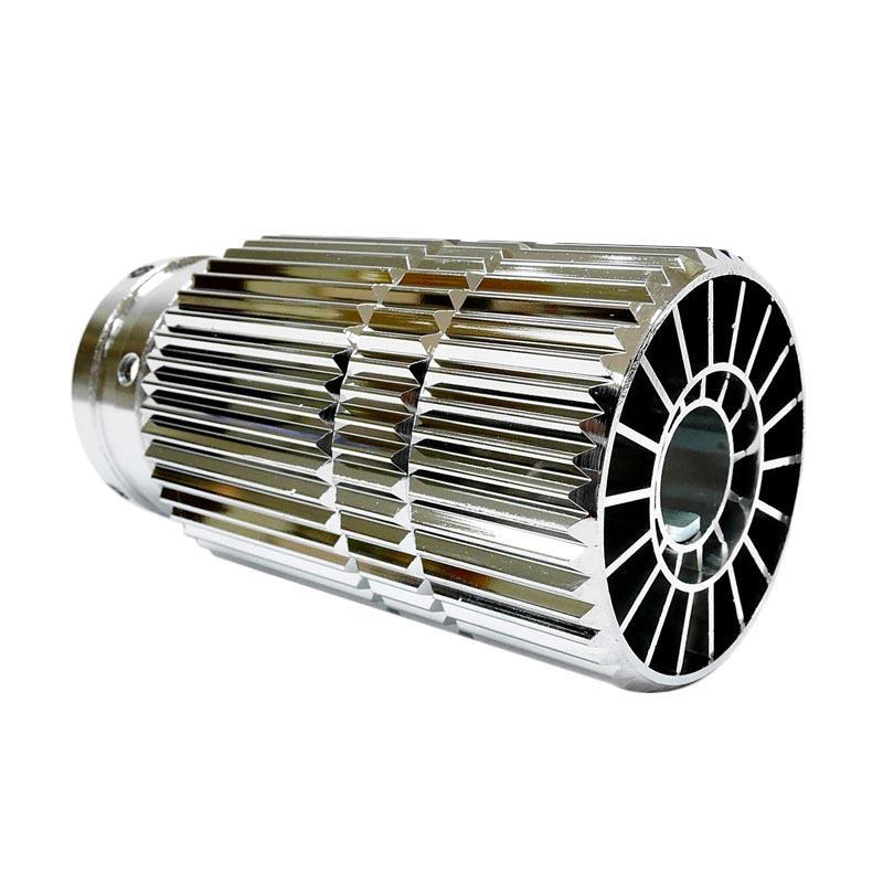 SIV BK 6083 Cutter Muffler Head Untuk Knalpot Mobil Universal - Silver