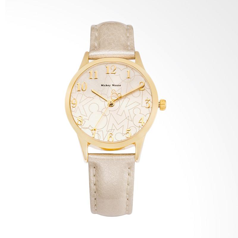 Disney MS11003-G Mickey Jam Tangan Wanita - Putih