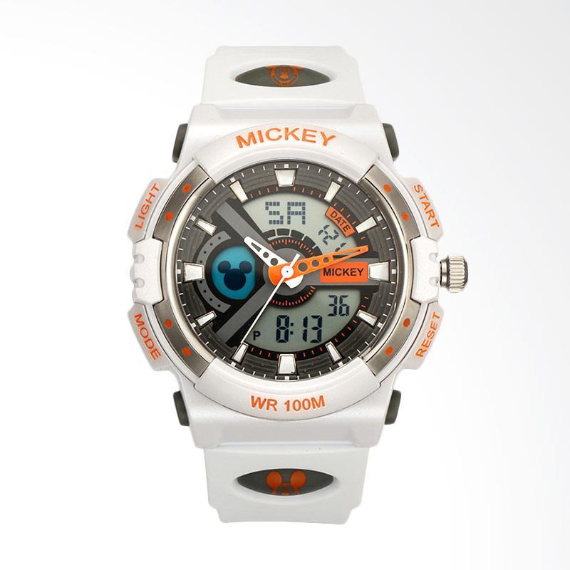 Disney MS15025-W Mickey Jam Tangan Sports - Putih