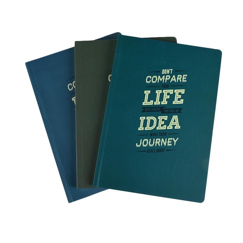 Karisma Exclusive Set Buku Tulis  Don't Compare Your Life [A5/ 80 g/ 3 pcs] - 744781
