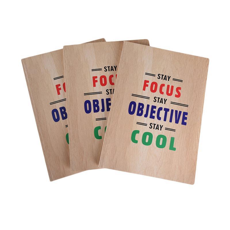 Karisma Exclusive Stay Focus Stay Objective Buku Tulis [3 Pcs/B5/748598]