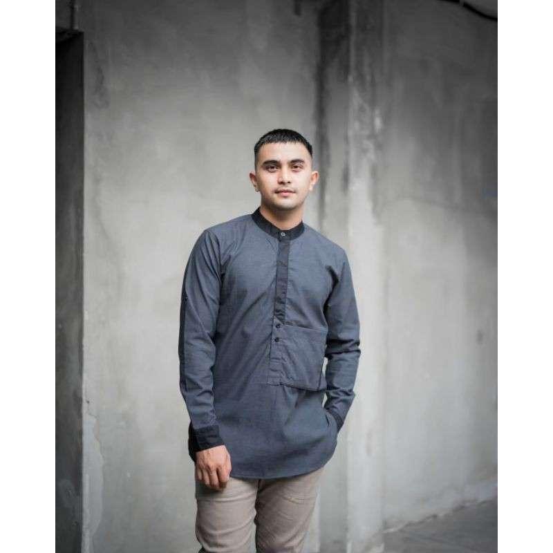 Jual Baju Koko Muslim Pria Dewasa Original Kurta Pakistan Online April 2021  | Blibli