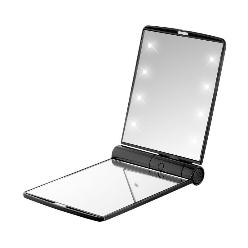 28Fashion 8 Lampu LED Cermin Rias Perlengkapan Make Up - Black