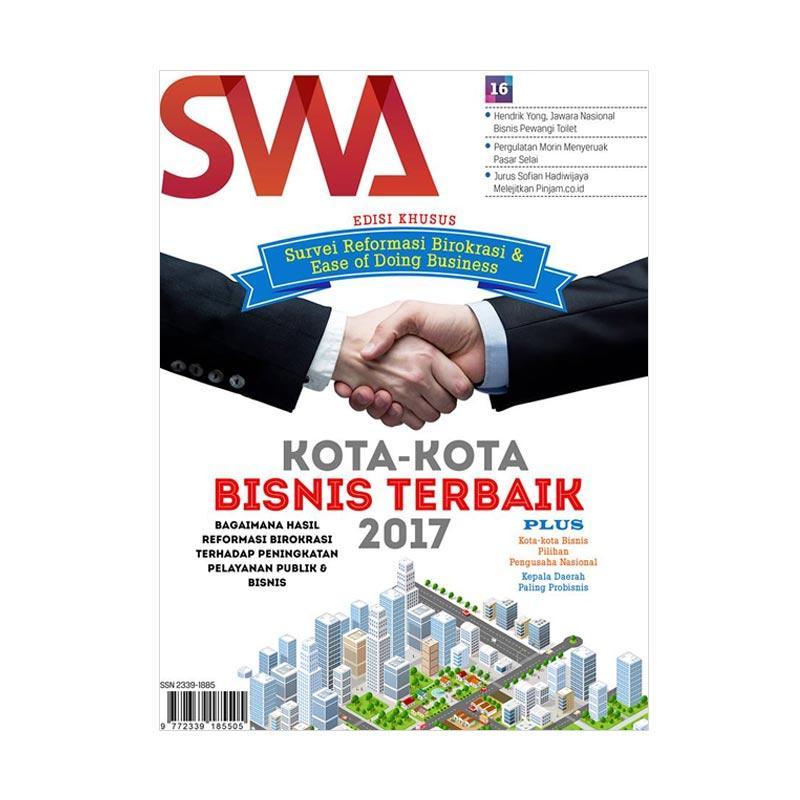 SWA Kota-Kota Bisnis Terbaik Edisi Khusus 16/2017 Majalah