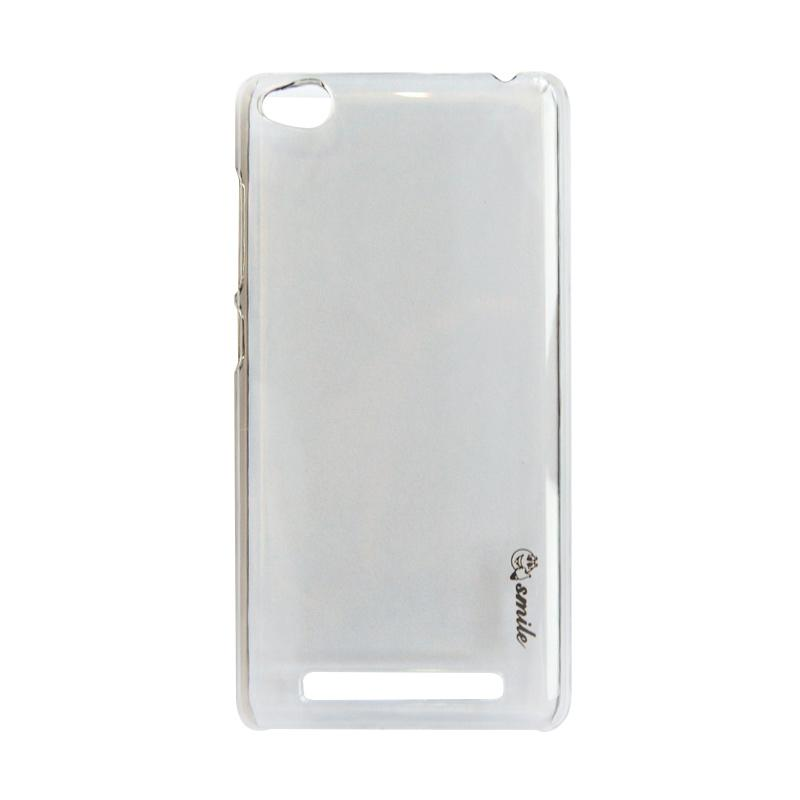 Smile Crystal Hardcase Casing for Xiaomi Redmi 4A - Transparant Black