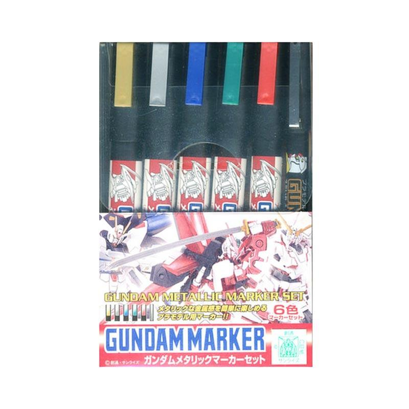 Mr Hobby GMS 121 Gundam Metallic Marker Set