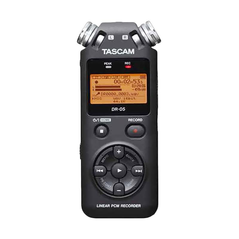 harga TASCAM DR-05 Portable Handheld Digital Audio Recorder Blibli.com