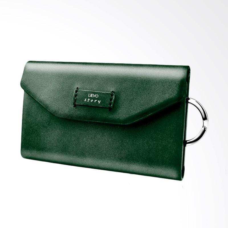 LIEVO Story - Key Holder Wallet - Dark Jade