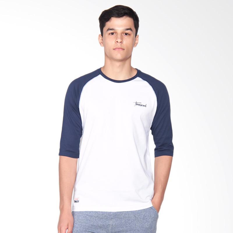 3SECOND 3008 T-Shirt Pria - Blue 152081712