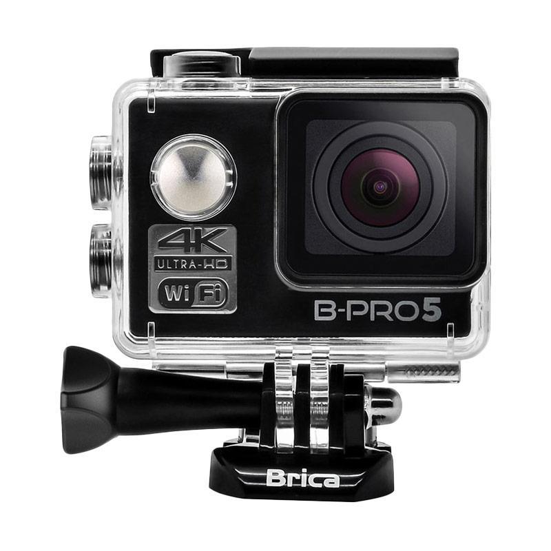 Brica B-PRO 5 Alpha Edition Mark II AE2 Combo Attanta Deluxe Paket Action Camera - Hitam