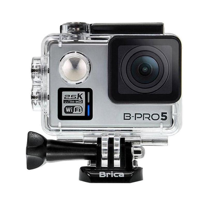 Brica B-PRO 5 Alpha Plus Version 2 AP2 Combo Brica Supreme Action Camera - Silver