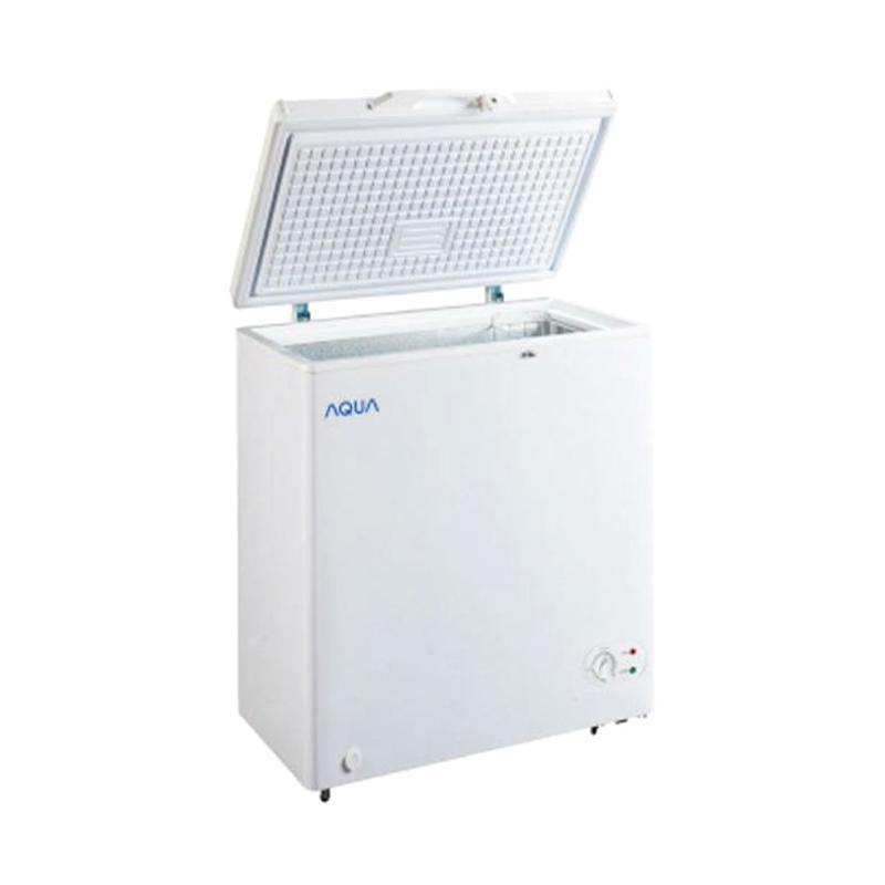 Aqua AQF-100-W Chest Freezer - Putih [100 L]