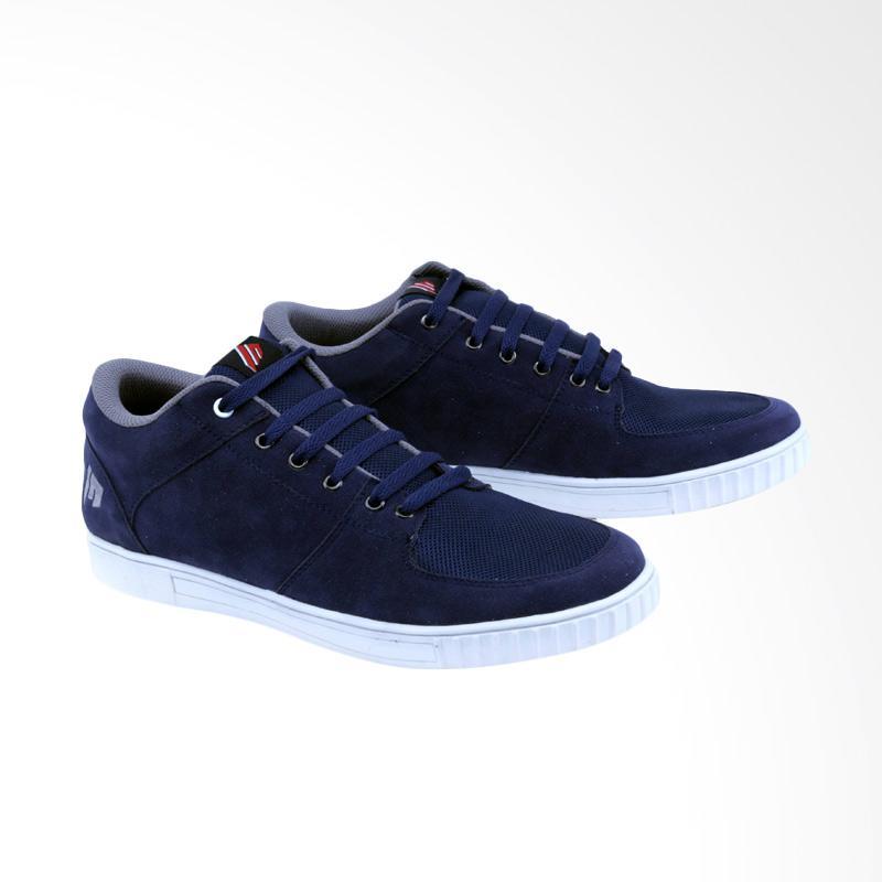 Garsel Sneakers Shoes Pria - Biru GDG 1016