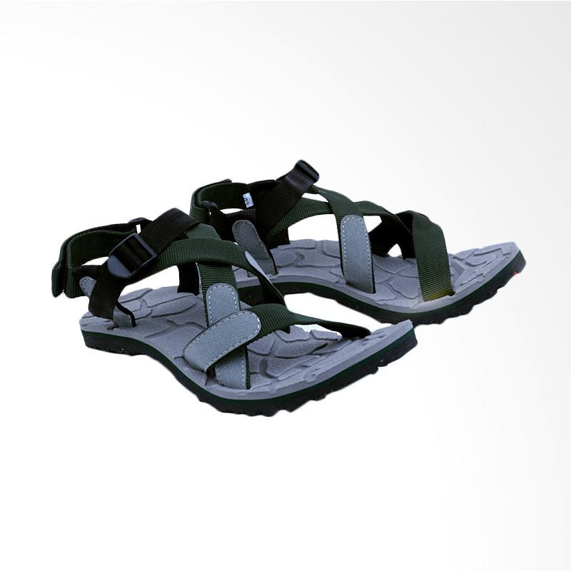 Garsel Sandal Kasual Pria - Green GSG 3009