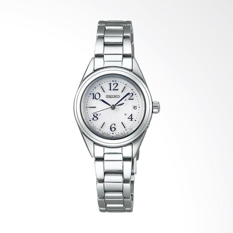 Seiko Ladies SWFH073 Selection White Dial Stainless Steel Watch Jam Tangan Wanita