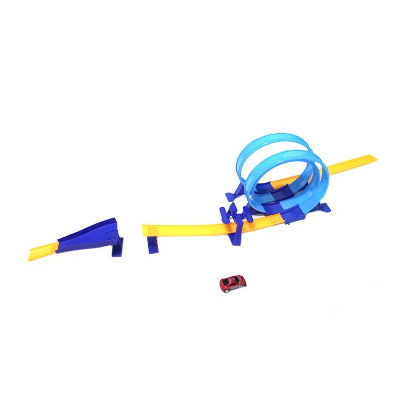 Skai Multi Loop Racing Track Mobil Mainan Anak [19 pcs]