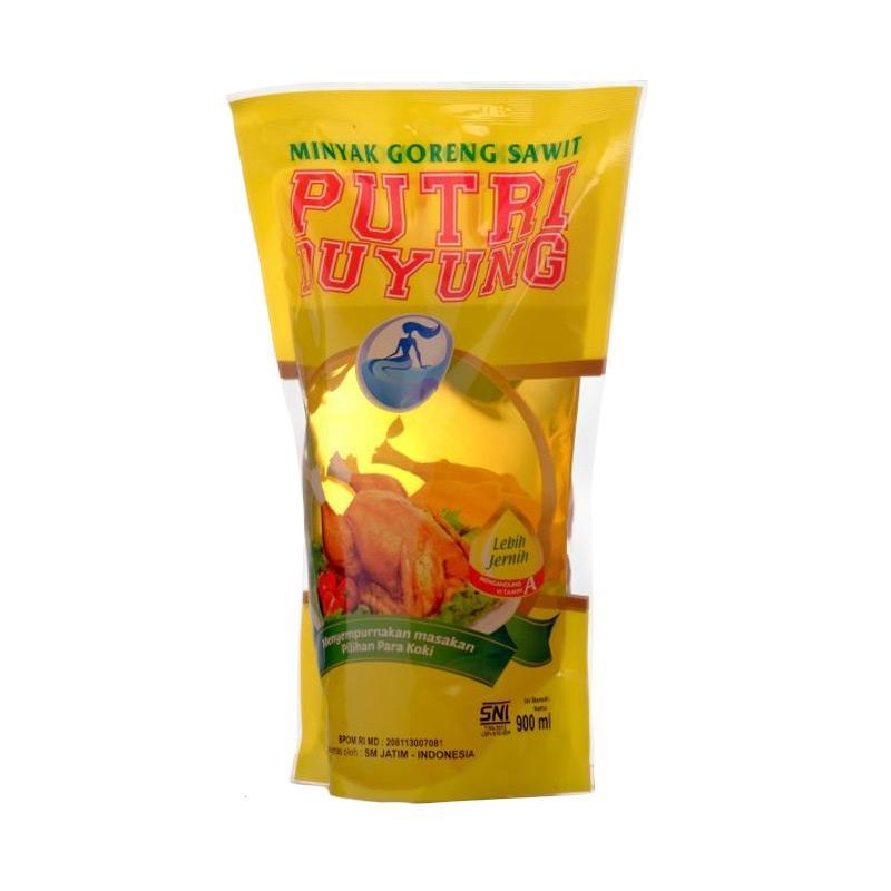 Putri Duyung Minyak Goreng Pouch [900 mL X 2Pcs]
