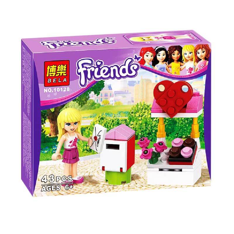 Bela 10128 Girls Mainan Mini Blocks