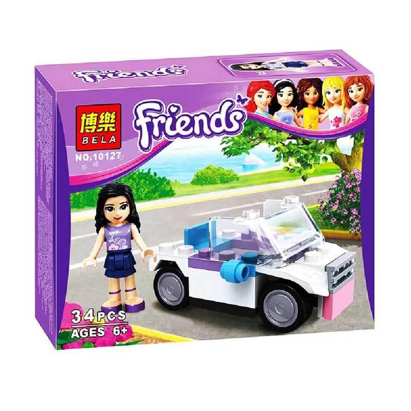 Bela 10127 Girls Bricks Mainan Anak