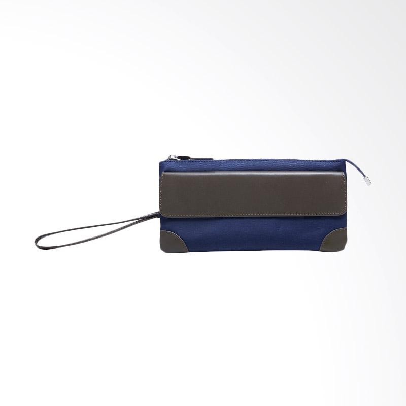 Amore Daniel Stark - 3 Layers Mini Pouch - Navy Blue
