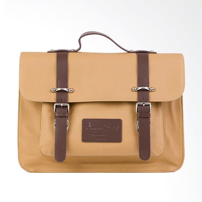 Amore Daniel Victor - Vintage Briefcase - Khaki