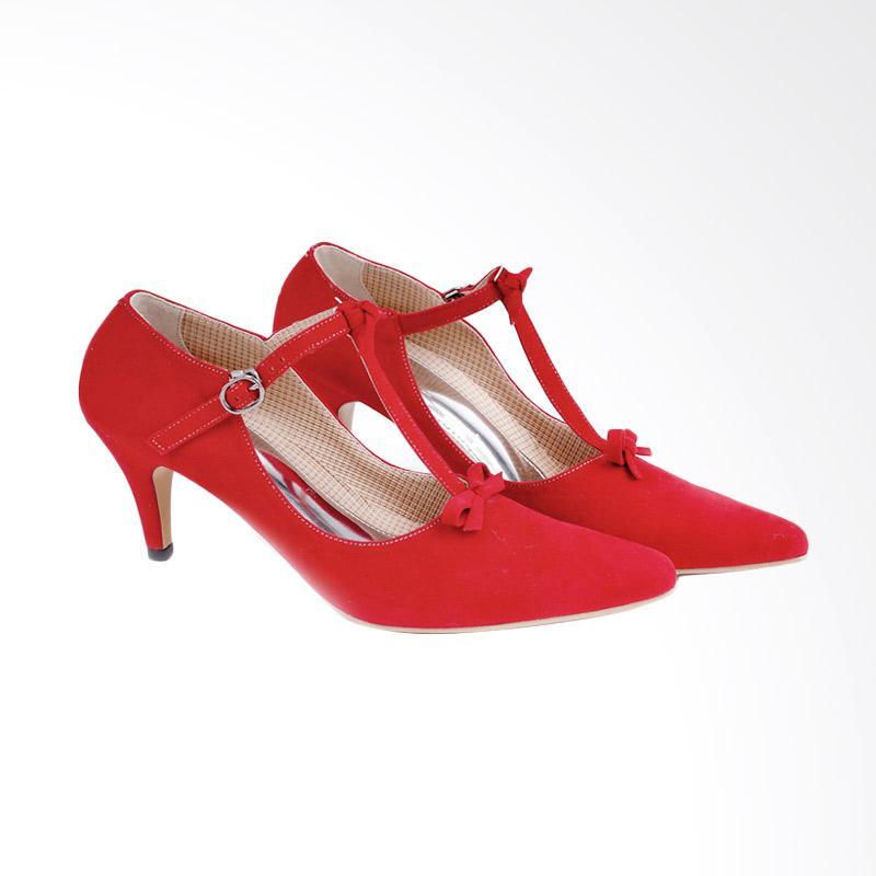 Garucci GBU 4196 High Heels - Red