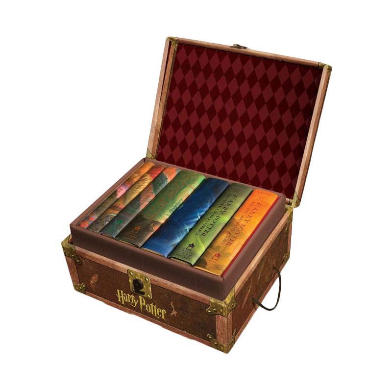 J. K. Rowling Harry Potter Hard Cover Boxed Set by J. K. Rowling Buku Novel