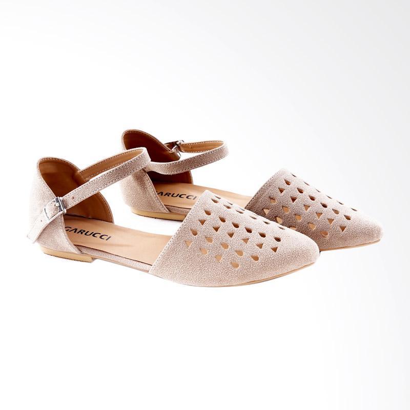Garucci GBK 6111 Ballerina Shoes Wanita - Cream