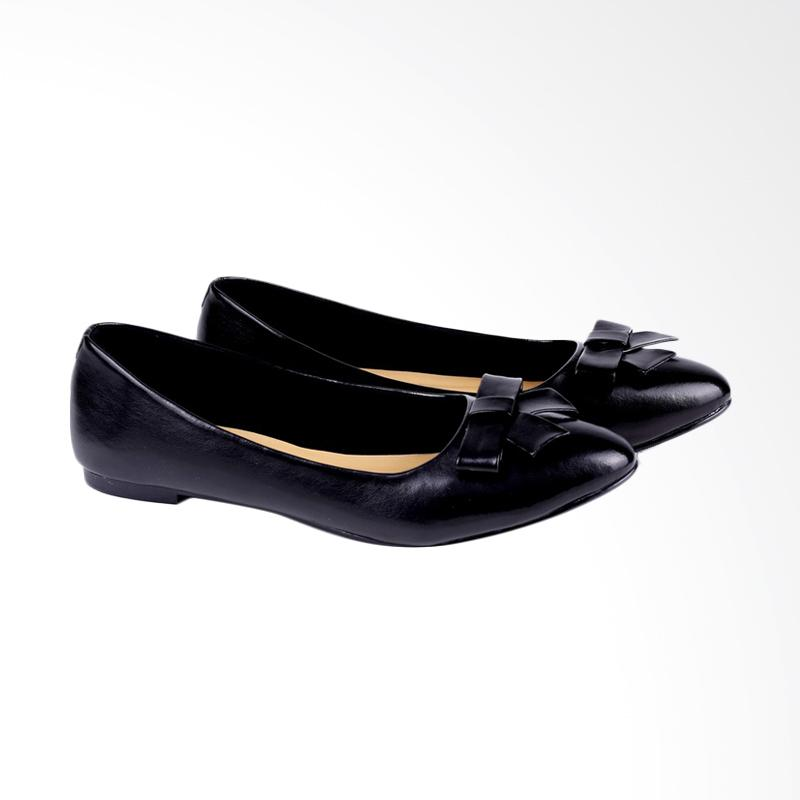 Garucci GDC 6114 Ballerina Shoes Wanita - Black