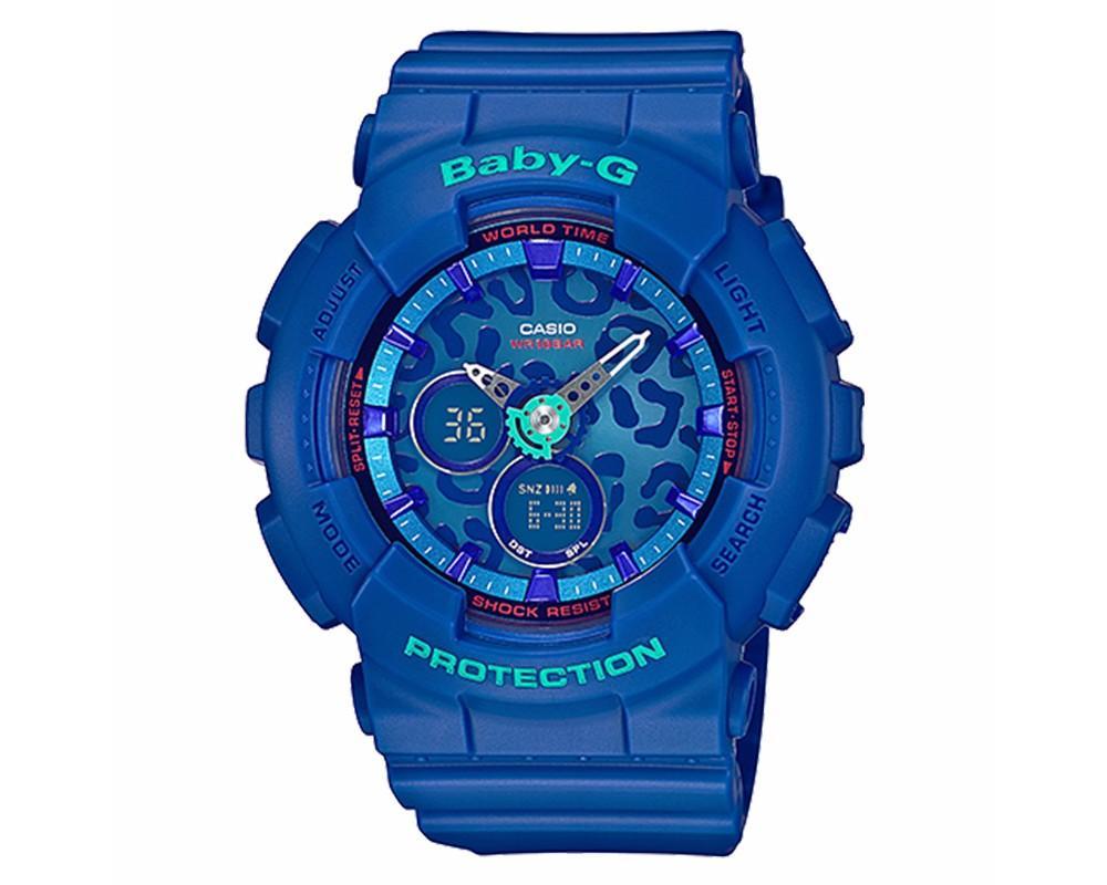 Casio Baby-G BA-120LP-2ADR Resin Band Jam Tangan Wanita - Blue