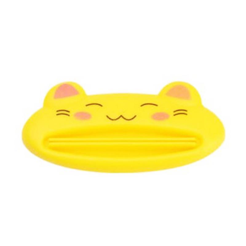 Toko49 Motif Animal Alat Pemencet Pasta Gigi - Kuning