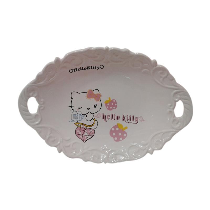 Hello Kitty HK-003 Angle Piring Pesta - Multicolor