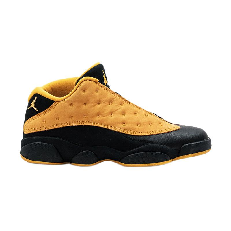 jordan yellow. nike men air jordan 13 retro low sepatu sneaker pria - yellow