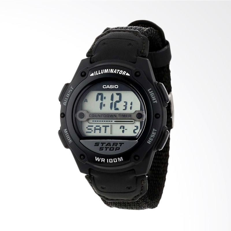 Casio Men's Digital Sport Watch Jam Tangan Pria W756B-1AV
