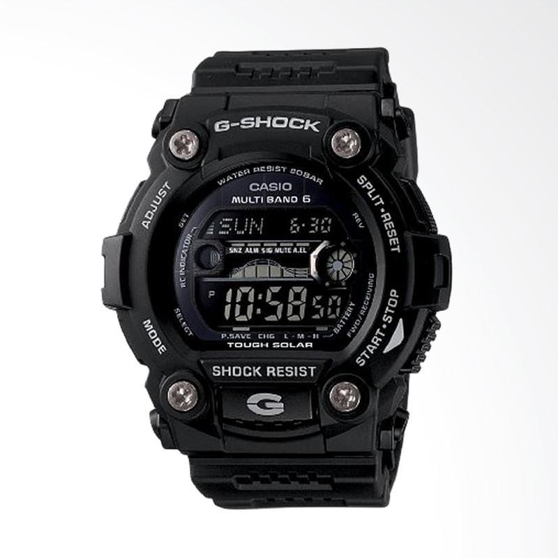 Casio Men's G-Shock Black Solar Sport Watch Jam Tangan Pria GW7900B-1