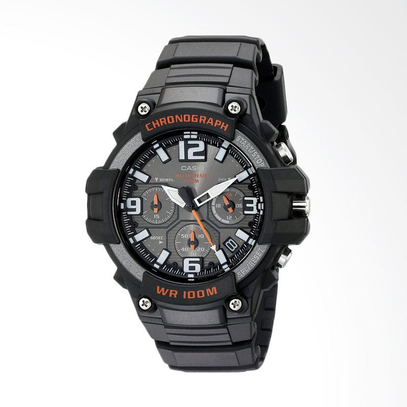 Casio Men's Heavy Duty Design Watch with Black Silicone Band Watch Jam Tangan Pria MCW-100H-1AVCF