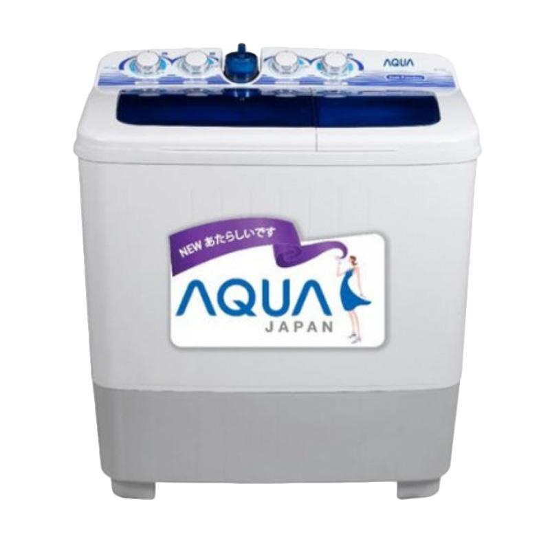 Aqua QW-1080XT Mesin Cuci 2 Tabung [10 kg]