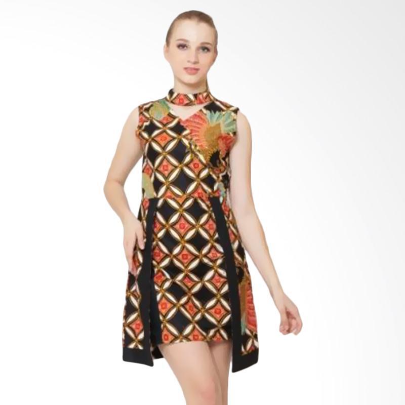 Djoemat Gembira Keraton Dress in D17-01-06 Atasan Wanita - Black