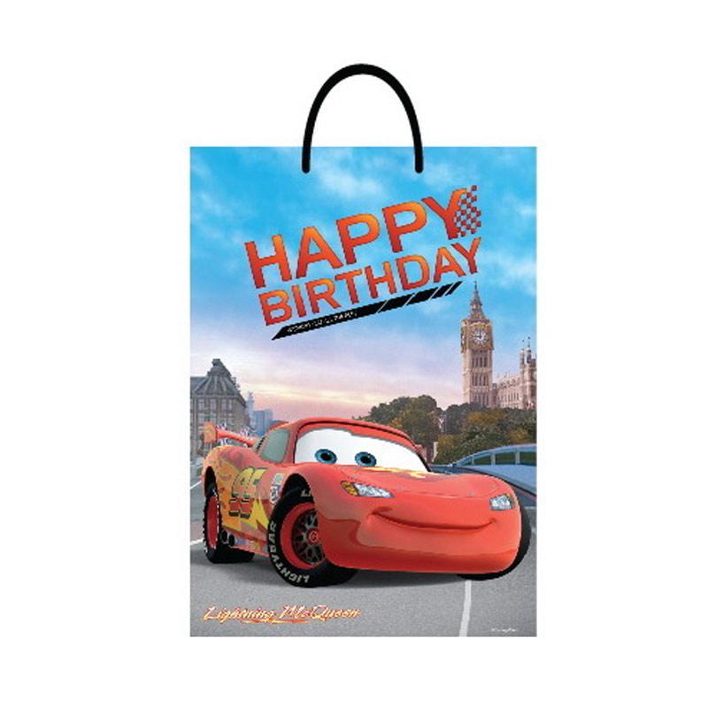 Something Sweet BA3346- CR009 Lightning McQueen Paris Happy Birthday [Jumbo]
