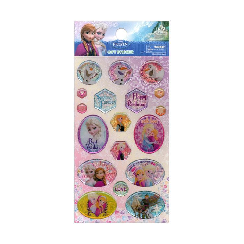 Something STK 155EPO0814PR002 Best Wishes Sweet Frozen Epoxy Sticker