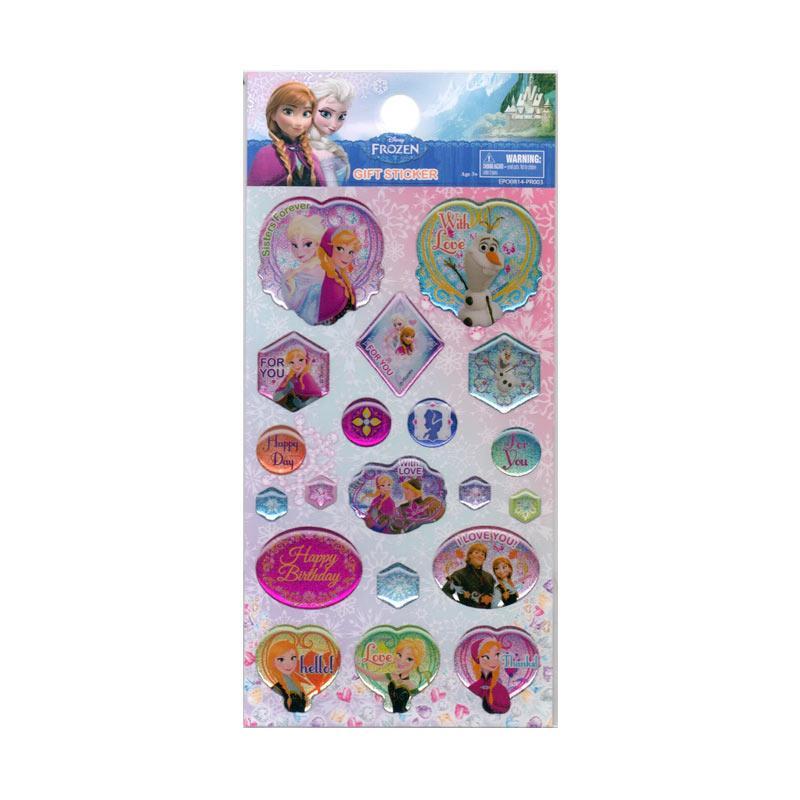 Something Sweet STK 155EPO0814PR003 Frozen Epoxy with Love Sticker