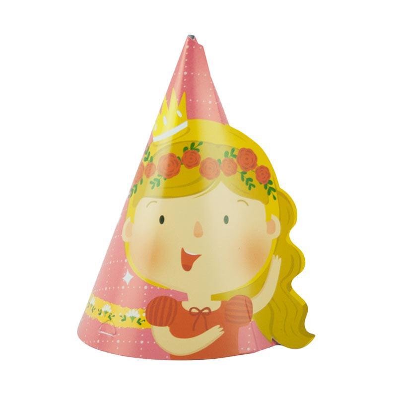 Wola Fiona The Royal Princess Party Hats - Pink [10 pcs]