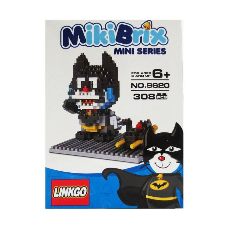 Linkgo 9620 De Capt Diamond Blocks Mainan Blok & Puzzle