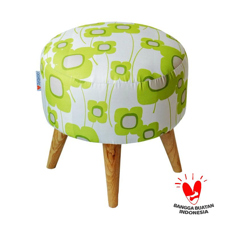 Ayoyoo Lime Gardenia Moon Stool