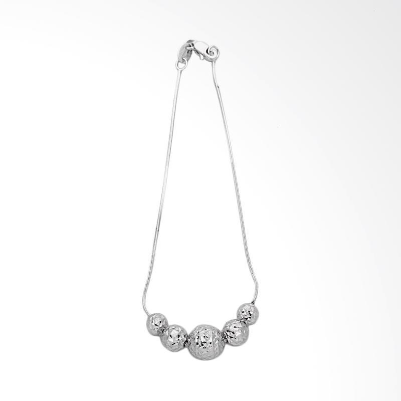 Rhea  Gelang Emas Kadar 75 - Gold Bracelet-WHIZLIZ