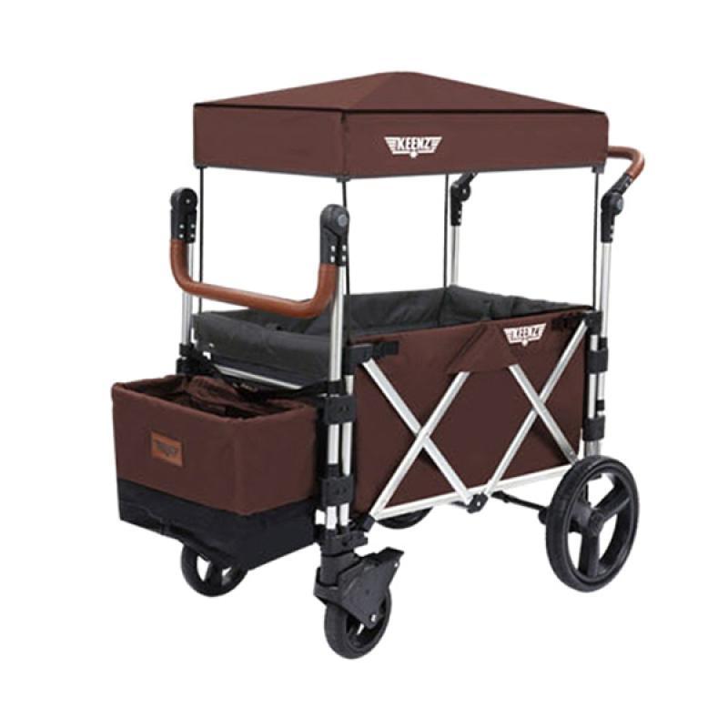 Keenz Stroller Wagon 7s Kereta Dorong Bayi - Brown Velvet