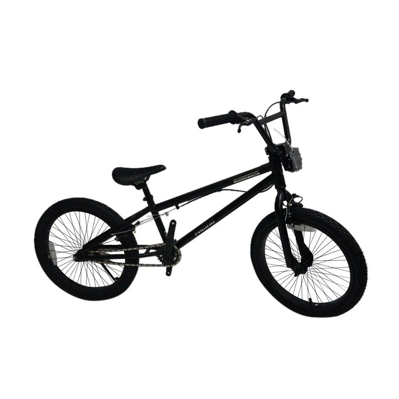 Pacific Black Out Sepeda Bmx - Black [20 Inch]