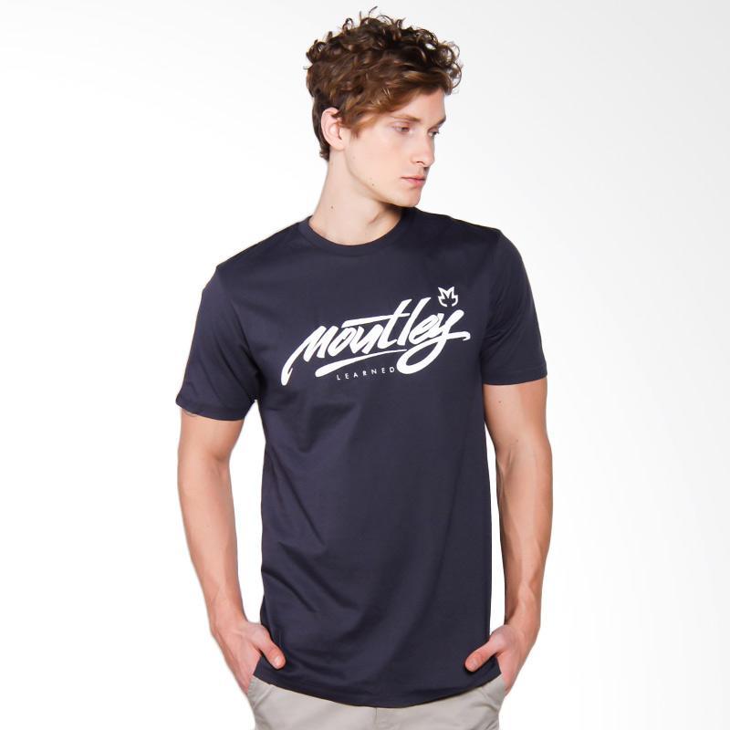 Moutley 0904 Tshirt Pria - Grey [309041712]