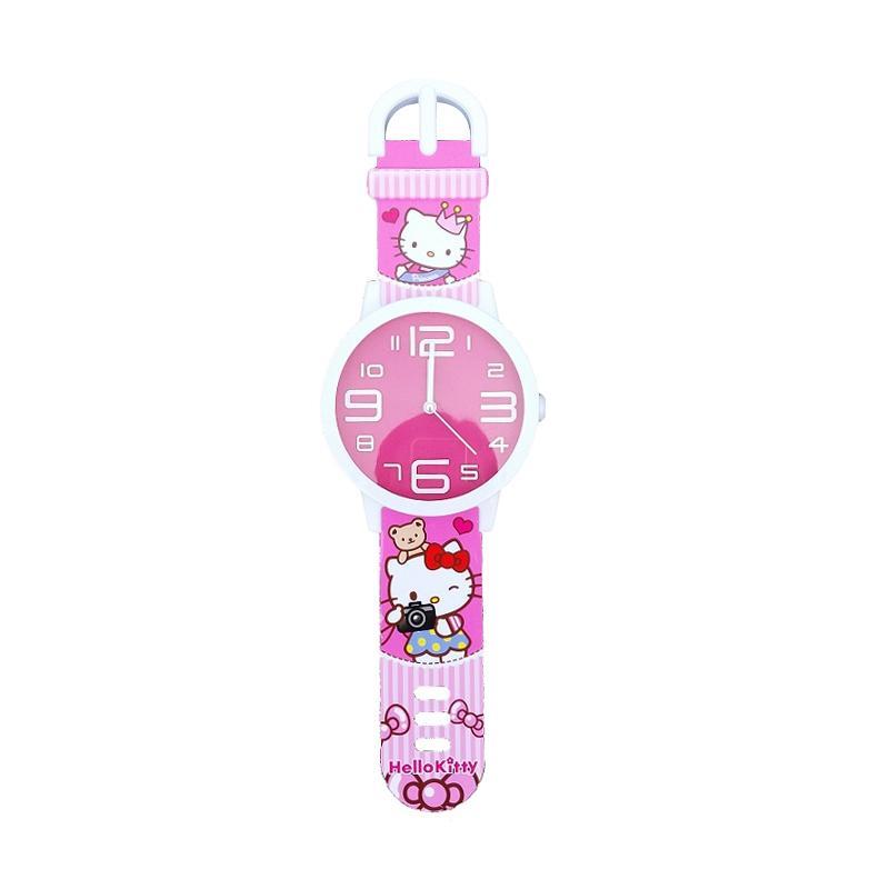 harga Character Model Jam Tangan Hello Kitty Jam Dinding Blibli.com